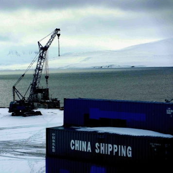 Port of Barentsburg
